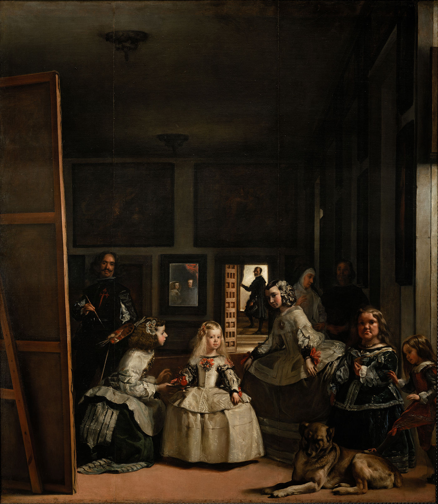 Las Meninas, Diego de Velásquez, 1656 Museo del Prado