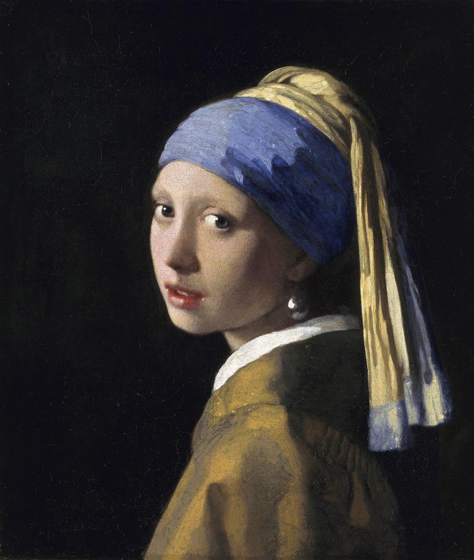 La joven de perla, Johannes Vermeer, 1665-1667. Museo Mauritshuis, La Haya