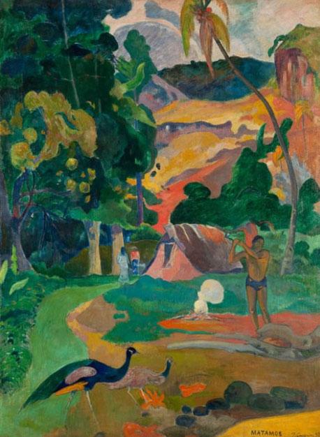 Matamoe, Paul Gauguin, 1892. Museo Pushkin, Moscú