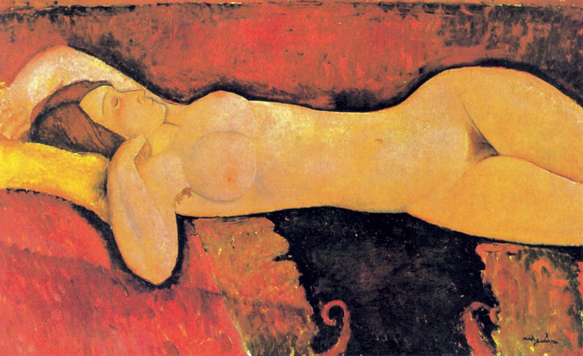 Gran desnudo, Amadeo Modigliani, 1917. Moma, Nueva York