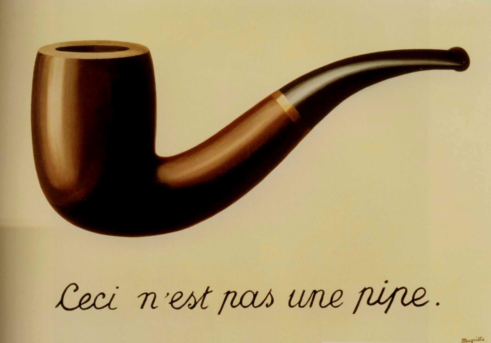La traición de las imágenes, René Magritte, 1929. Los Angeles County Museum of Art, California
