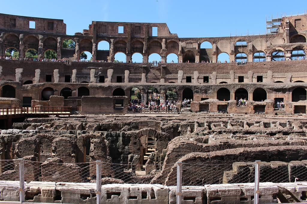 Vista interior del Coliseo