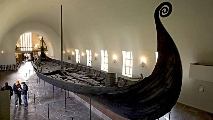 Barco vikingo, c.980. Museo Bygdoy, Oslo.