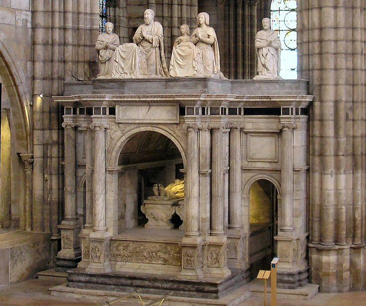 Tumba de Francisco I de Francia (1494-1547), Basílica de San Denis