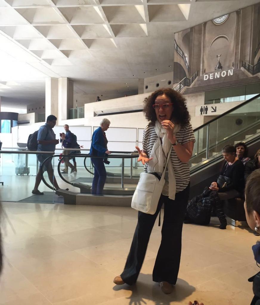 Un sueño cumplido: improvisar una clase en el Ala Denon del Museo del Louvre