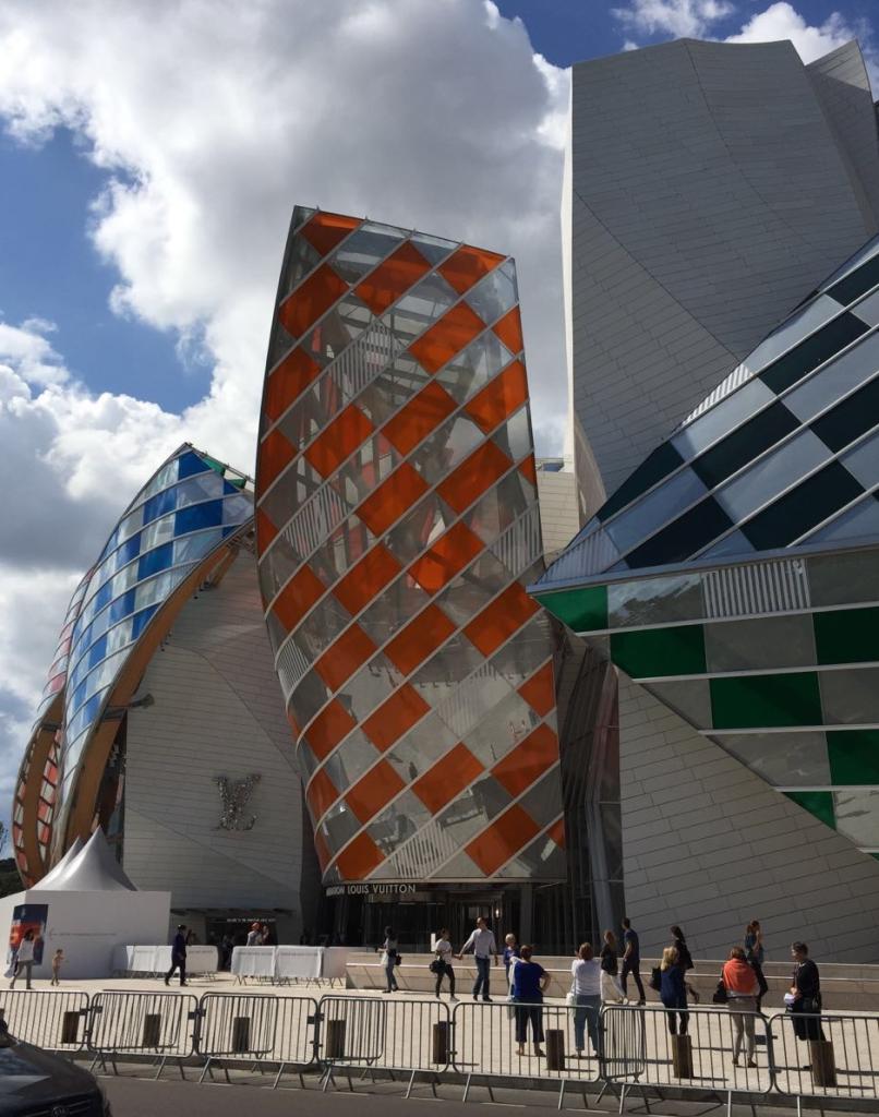 Fundación Louis Vuitton, Frank Gehry, 2014