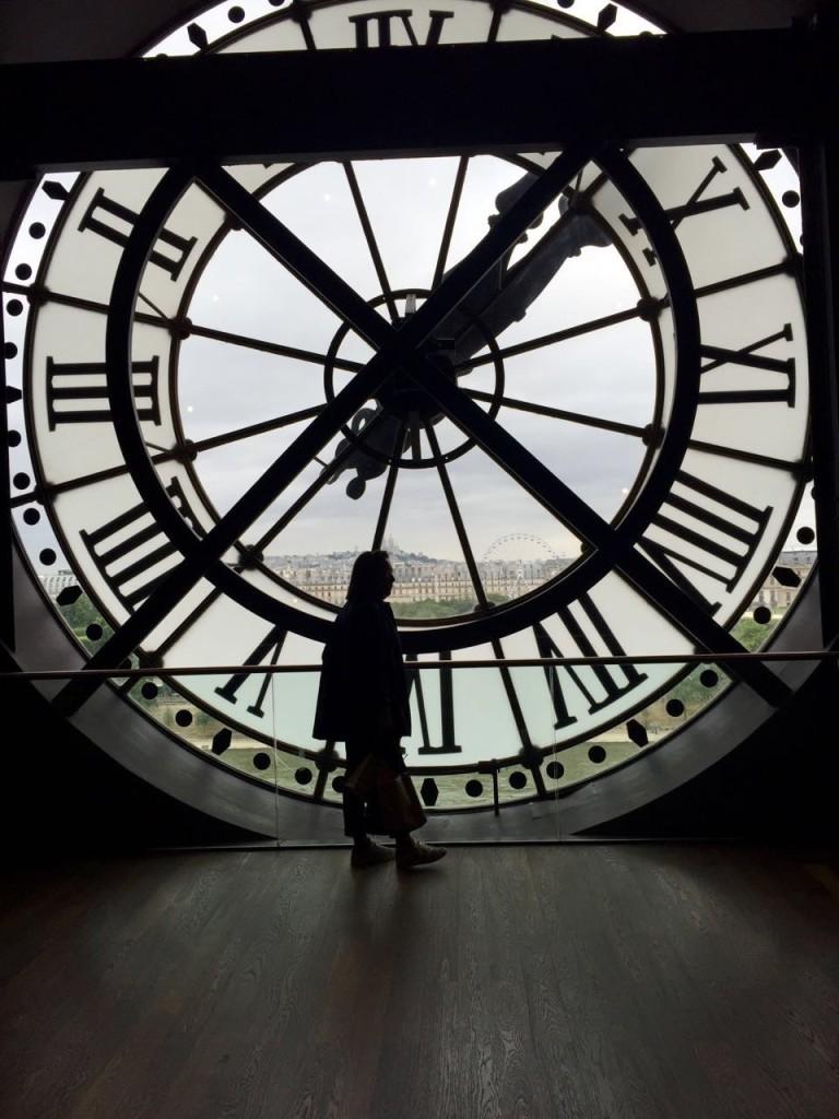 Reloj de la fachada del Museo D'Orsay