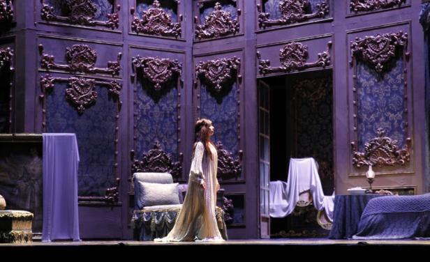 Escenografía de La Traviata, Teatro Municipal de Santiago (Chile)